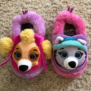 Other - Toddler Paw Patrol Slippers